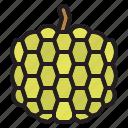 apple, custard, fruit, oragnic, vegetable icon