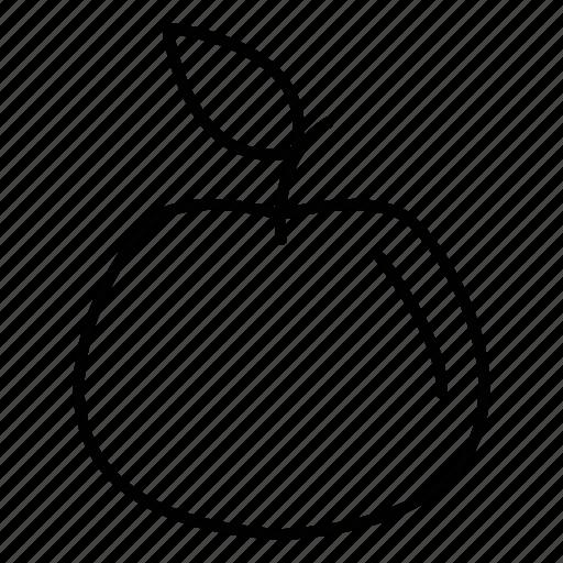 apple, food, fresh, fruit icon
