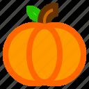 food, fruit, meal, pumpkin, vegetable, vegie icon