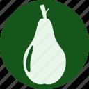 food, fruit, fruits, gastronomy, pear, veg, vegetable icon