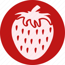 food, fruit, fruits, gastronomy, healthy, strawberry, vegetable icon