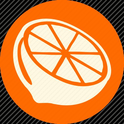 fruit, fruits, gastronomy, lemon, orange, veg, vegetable icon