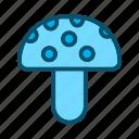 champignon, mushroom, vegetable icon