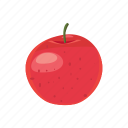 apple, cartoon, delicious, diet, food, healthy, sweet icon