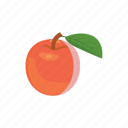 apple, cartoon, delicious, diet, food, healthy, sweet icon