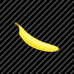 banana, cartoon, fresh, fruit, healthy, ripe, yellow icon