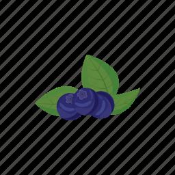 berry, bilberry, blueberry, cartoon, food, fresh, fruit icon
