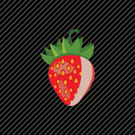Berry, cartoon, fresh, freshness, ripe, strawberry, sweet icon - Download on Iconfinder