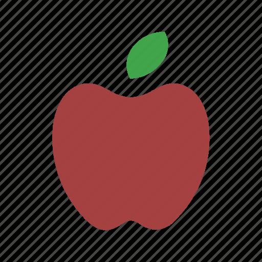 apple, food, fruit, juicy icon