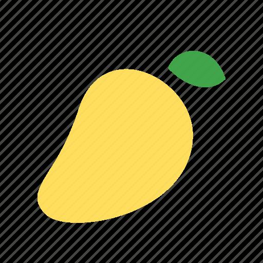 fruit, juicy, mango icon