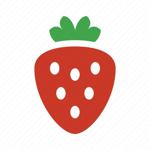 berry, fruit, juicy, strawberry icon