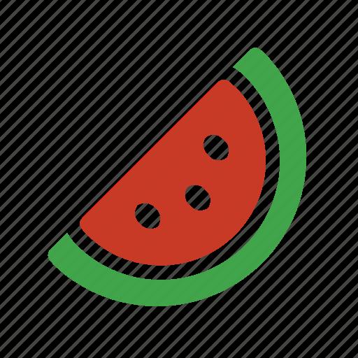 fruit, slice, watermelon icon