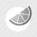 application, cooking, food, fruit, furit, g, game, gray, healthy, kitchen, orange, play icon