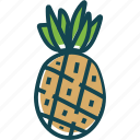 fruit, fruits, healthly, pineapple, sweet icon