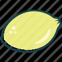 fruit, fruits, lemon, vitami c icon