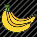 banana, diet, food, fresh, fruit, healthy, organic