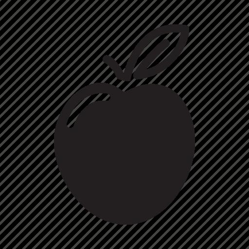 apple, fresh, fruit, orange, organic icon