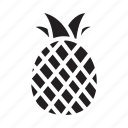 fresh, fruit, healthy, organic, pineapple icon