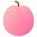 food, fresh, fruit, healthy, peach