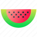 food, fruit, healthy, watermelon icon
