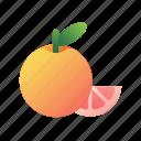 grapefruit, fruit, citrus, fresh, juicy, healthy, sweet