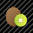 kiwi, fruit, juicy, healthy, fresh, diet, organic