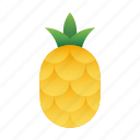 pineapple, fruit, tropical, summer, food, healthy, organic