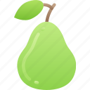 eating, food, fruit, health, pear icon