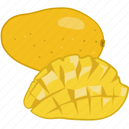 flavor, fruit, juice, mango, mangos icon