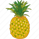 fruit, fruits, juice, pineapple, pineapple juice, sweet icon