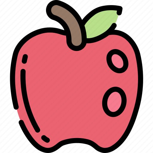 Apple, eating, food, fruit, health icon - Download on Iconfinder