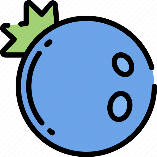 Blueberry, eating, food, fruit, health icon - Download on Iconfinder