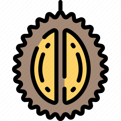 Durian, eating, food, fruit, health icon - Download on Iconfinder