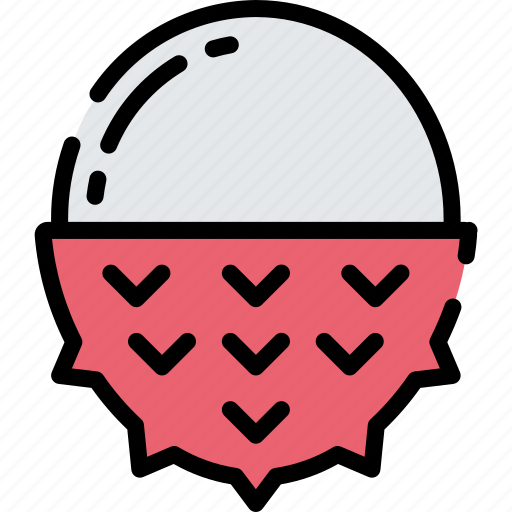 Eating, food, fruit, health, lychee icon - Download on Iconfinder