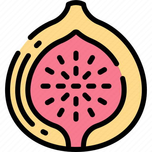 eating, fig, food, fruit, health icon