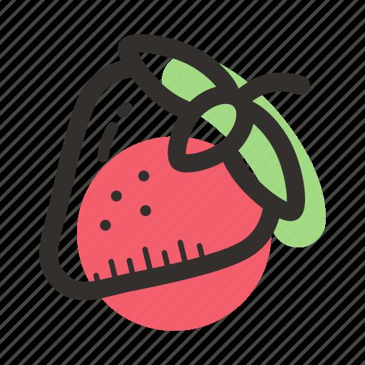 bush, dessert, food, garden, healthy, strawberry icon