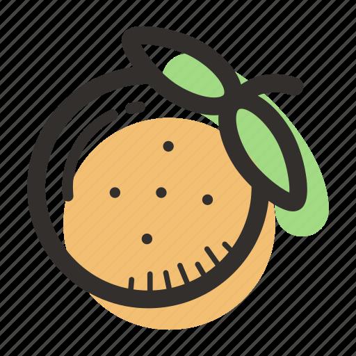 food, health, juice, orange, tasty, tree, tropical icon