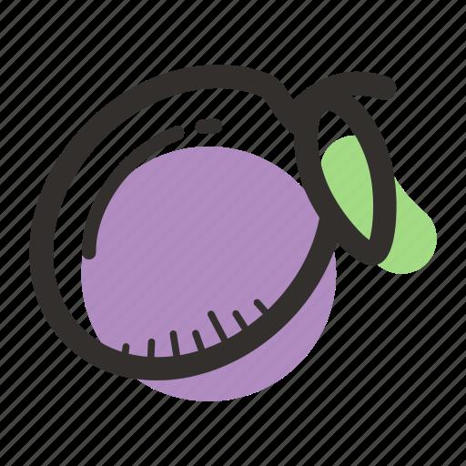 avenue, food, healthy, juice, plum, sweet, tree icon