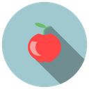 apple, delicious, fruit, fruta, maça, sin, sweet, worm icon