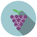 delicious, fresh, fruit, fruta, grape, summer, sweet icon