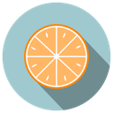 citrus, delicious, fresh, fruit, fruta, heat, orange, summer icon
