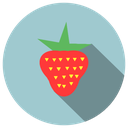 delicious, fruit, fruta, morango, sour, strawberry, summer, sweet icon