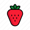dessert, food, fresh, fruit, strawberry, sweet, vegetable
