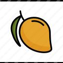 dessert, food, fruit, healthy, mango, summer, sweet