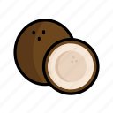 coconut, dessert, food, fruit, healthy, summer, sweet