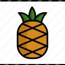 dessert, food, fruit, pineapple, summer, tropical, vacation