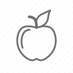 apple, food, fruit, healthy, meal, vegetable icon