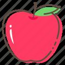 apple, fruit, healthy, food