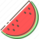 watermelon, fruit, healthy, food