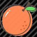 orange, fruit, healthy, food